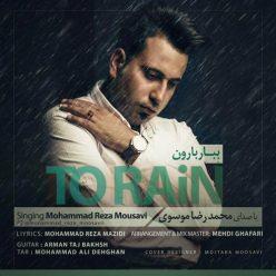 محمدرضا موسوی ببار بارون