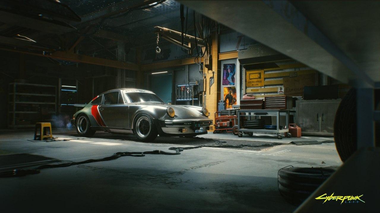 تصاویر جدید بازی Cyberpunk 2077 یک اتومبیل ویژه را نشان میدهند