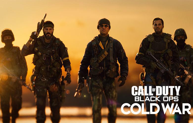 حجم بازی Cold War
