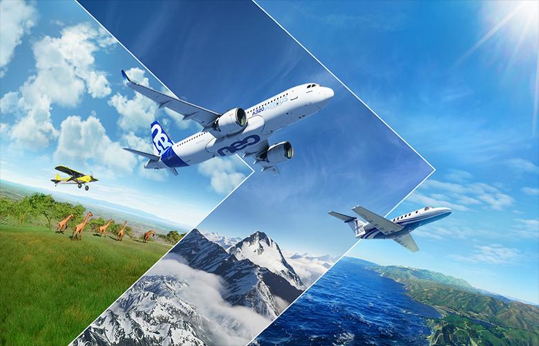 Flight Simulator واقعیت مجازی