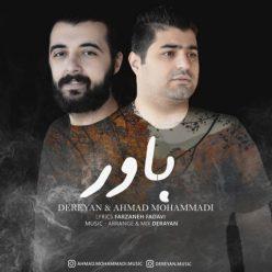 درایان و احمد محمدی باور