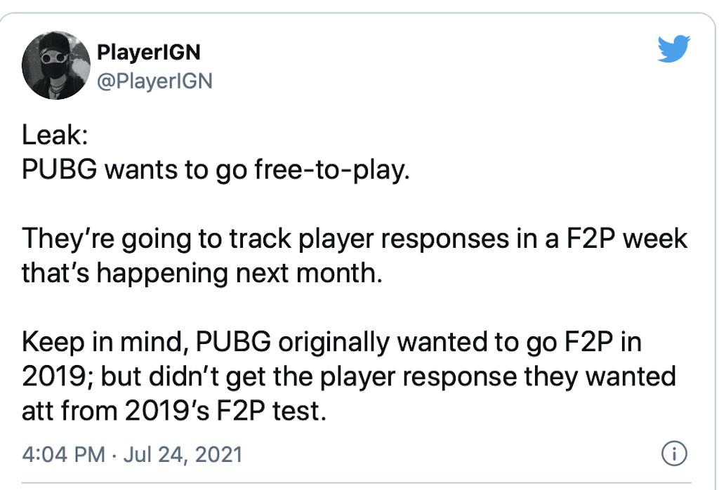 بازی PUBG