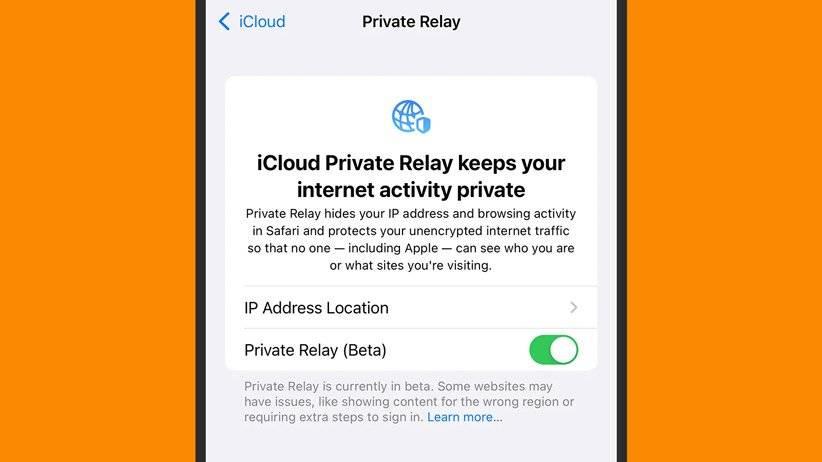 قابلیت iCloud Private Relay