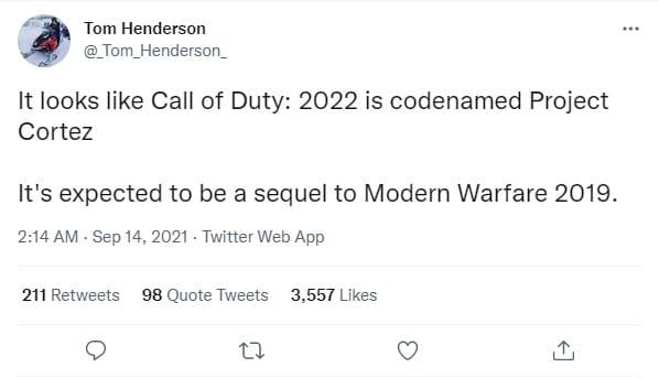 بازی Call of Duty: Modern Warfare